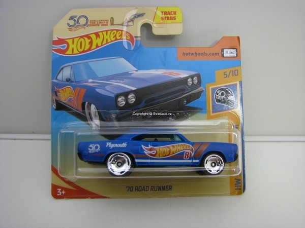 70 Road Runner 5/10 HW 50 Race Team Hotwheels 2018